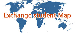 Exchange Student Map