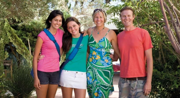 host family to exchange student
