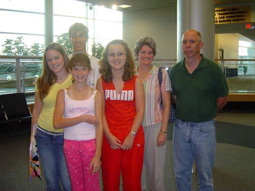 My hostfamily and i